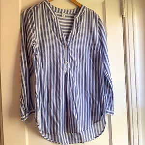 Old Navy Striped Tunic, Blue/White